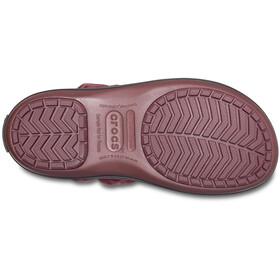 Crocs Winter Puff Saappaat Naiset, burgundy/black